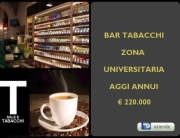 RIF 2731 BAR TABACCHI UNIVERSITà